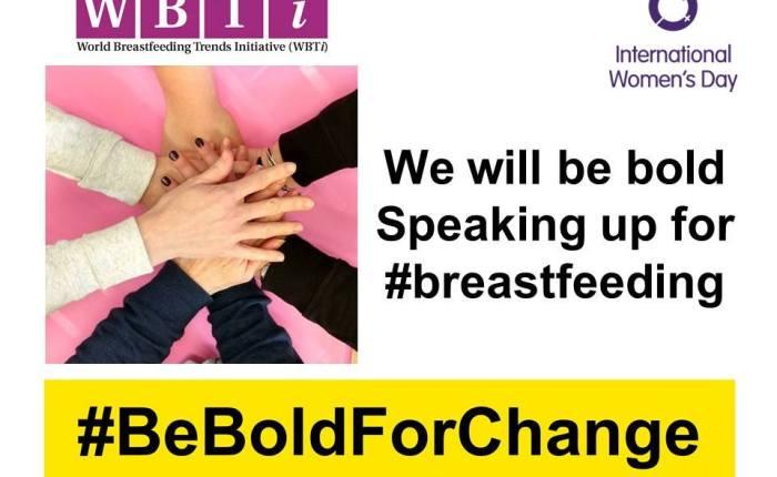 Mothers' voices #BeBoldForChange