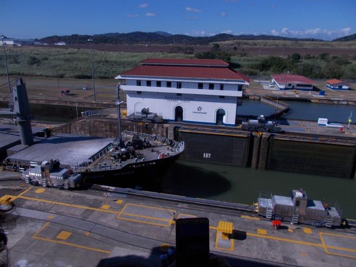 1Panama Canal 33. Miraflores locks